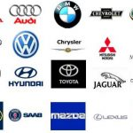 Марки автомобилей в виде списка