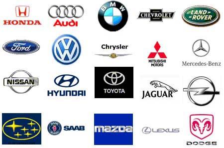 Все марки аавтомобилей