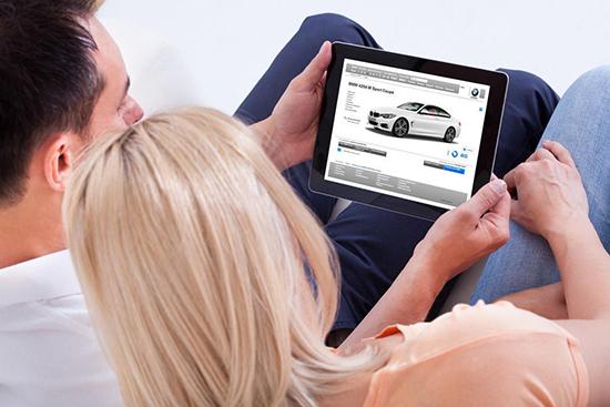 Поиск автомобиля для покупки в интернете