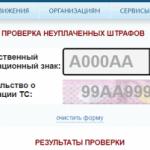 Как проверить штрафы ГИБДД по номеру машины бесплатно