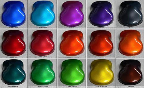 Акриловые краски для авто