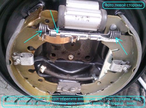 Замена задних колодок на Форд Фокус 2